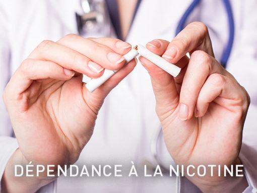 Dépendance à la nicotineLes personnes qui arrêtent de fumer ressentent fréquemment un besoin accru de nicotine, ainsi qu'un stress général et une nervosité dus au manque de nicotine.